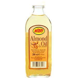 Масло миндальное «Almond Oil», 200 мл. (пищевое, для волос и тела)100% миндальное масло холодного отжима