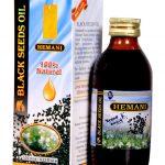 МАСЛО ЧЕРНОГО ТМИНА ХОЛОДНОГО ОТЖИМА, 125 МЛ (Hemani ) Black seed oil 125 ml