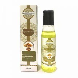 Масло для волос «Аргана и Макадамия» 100 мл, Vedik Essence Индия