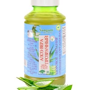 Натуральный сок Алоэ Вера 500мл Sangam Herbals.