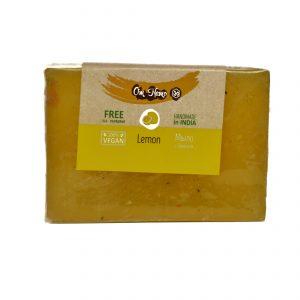 Мыло натуральное Vegan «Om Namo» Лимон 100 г.