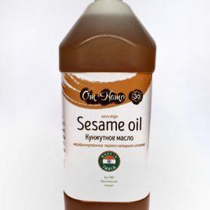 Масло Кунжутное OM NAMO Sesame Oil, 500мл — холодного отжима, светлое (Копировать)