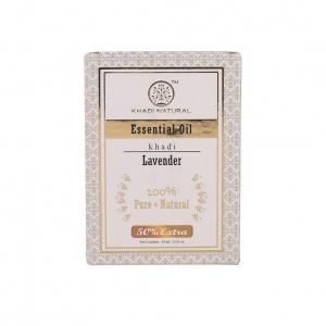 Натуральное эфирное масло Лаванды (Essential Oil Lavanda KHADI), 15 мл