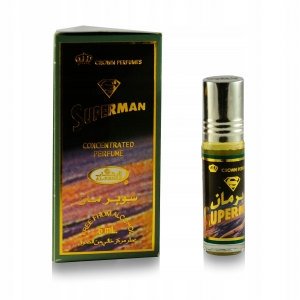 Мужские масляные арабские духи СУПЕРМЕН, Аль-Рехаб, 6 мл.