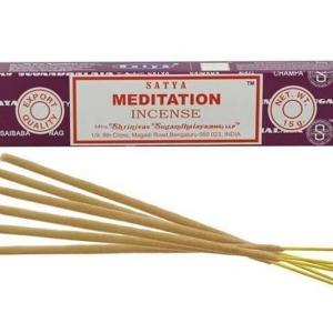 SATYA прямоуг. благовония Meditation МЕДИТАЦИЯ 15гр.