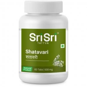 ШАТАВАРИ в таблетках, для здоровья женского организма, Шри Шри Таттва 60 таб.